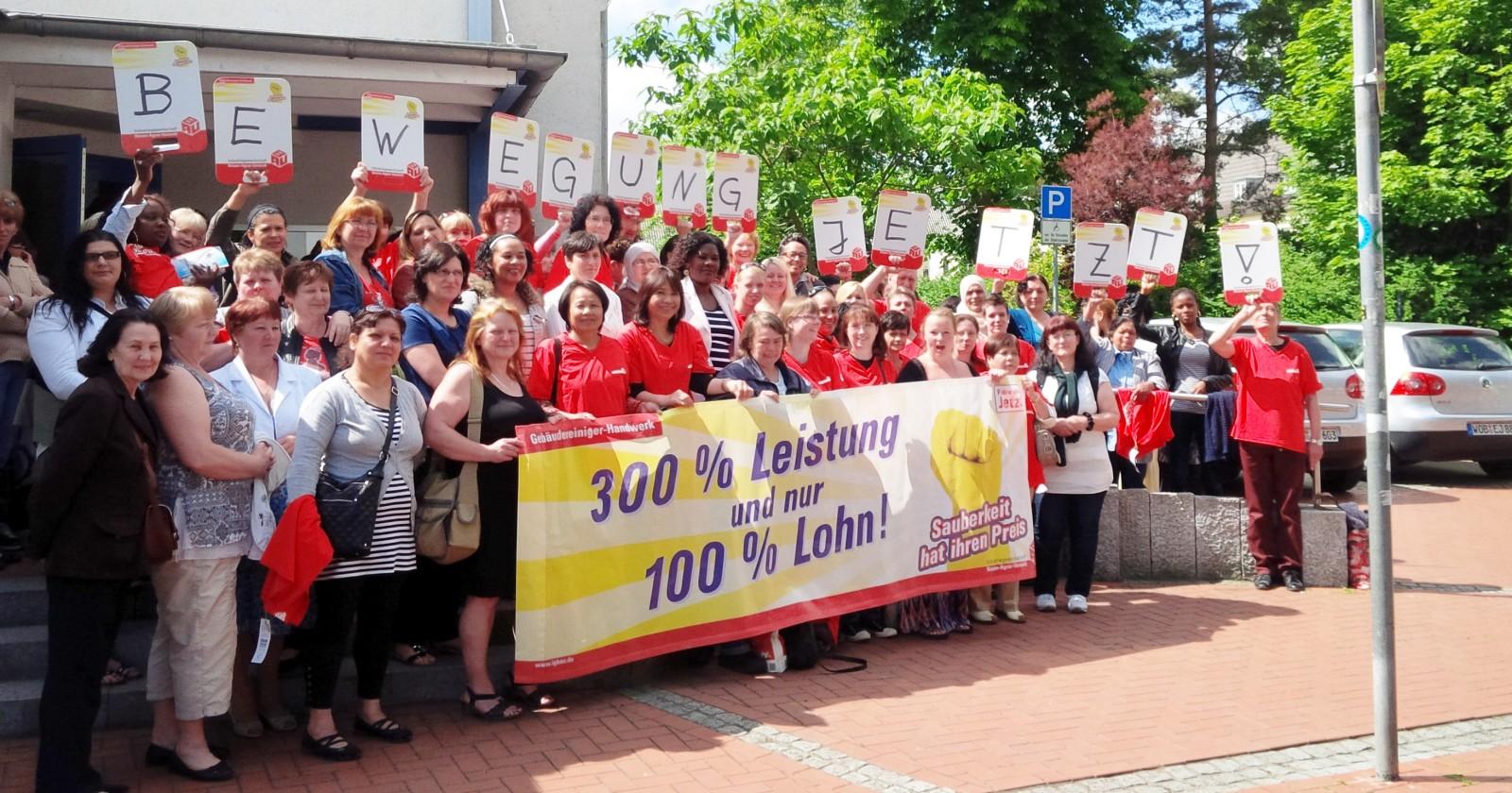 Kolleginnen & Kollegen von Tip Top fordern Bewegung von den Arbeitgebern