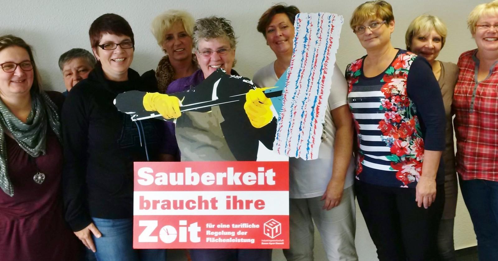 """Betriebsräte von Sasse Aviation, WISAG & Piepenbrock: """"Wir stehen hinter Euch!"""""""