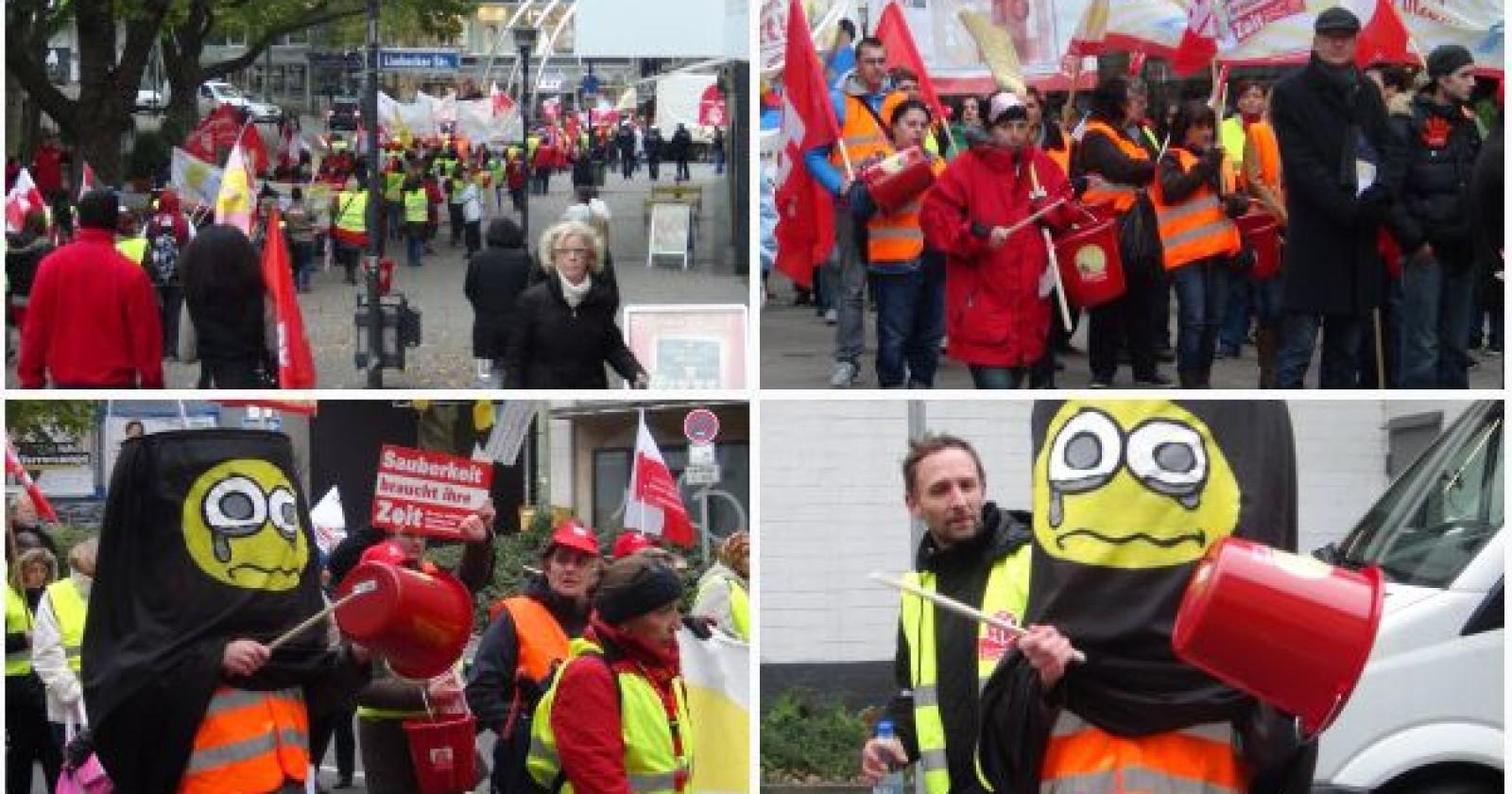 Bericht zur heutigen Tarifverhandlung und Demo in Essen
