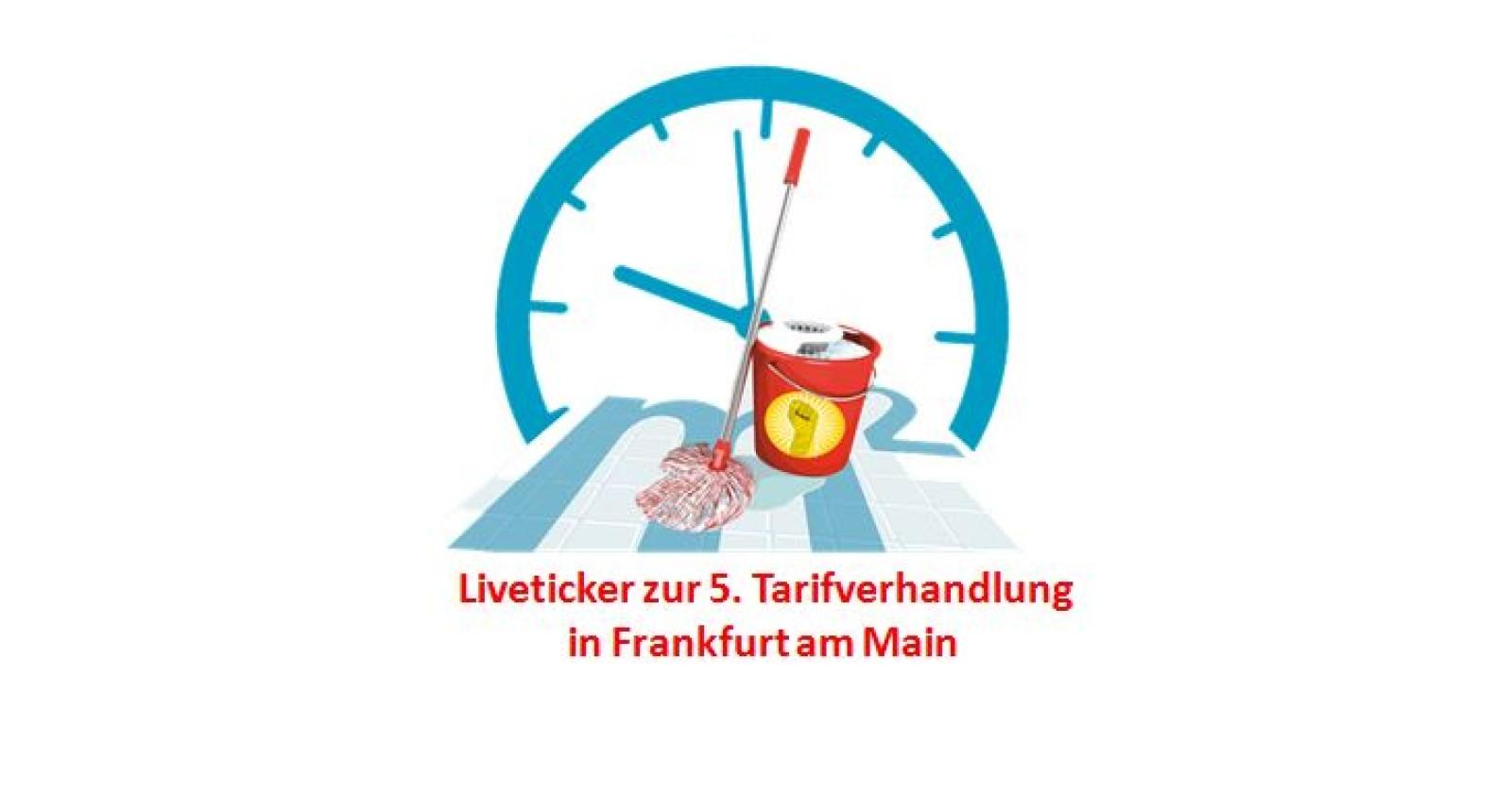 Live-Ticker zur fünften Tarifverhandlungsrunde in Frankfurt am Main
