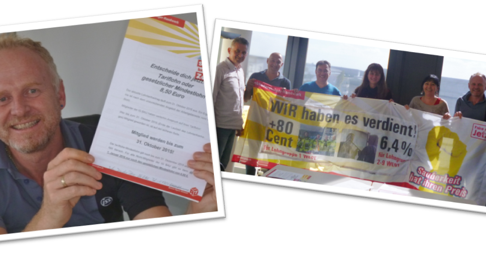 Betriebsrat ISS München: Wir wollen Tariflohn statt Mindestlohn!