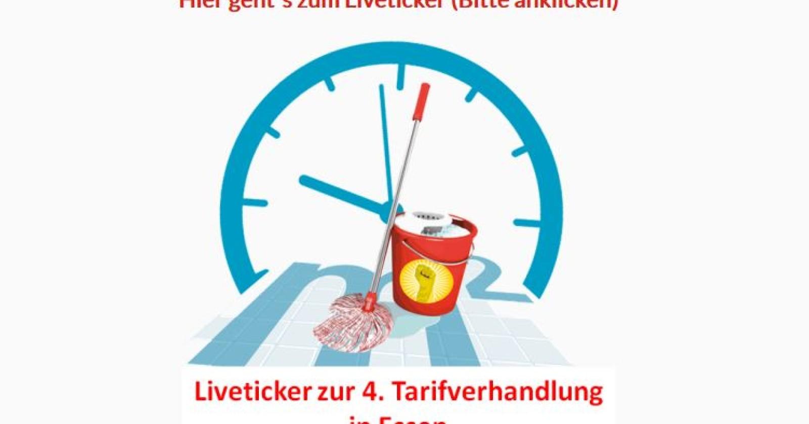 Live-Ticker zur vierten Tarifverhandlungsrunde in Essen