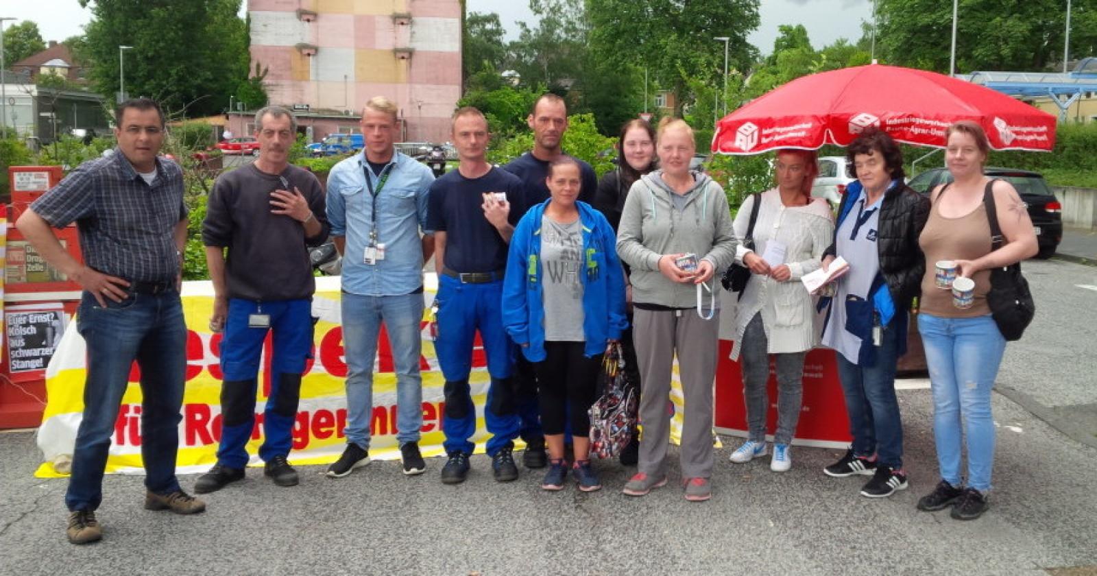 'Respect for Cleaners' auch im Chemiepark Leverkusen