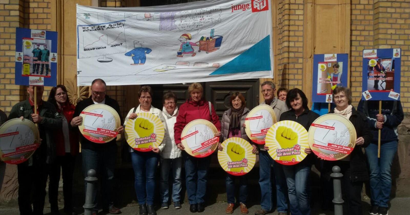 Fachgruppentreffen in Magdeburg: Bereit für die Tarifrunde 2017