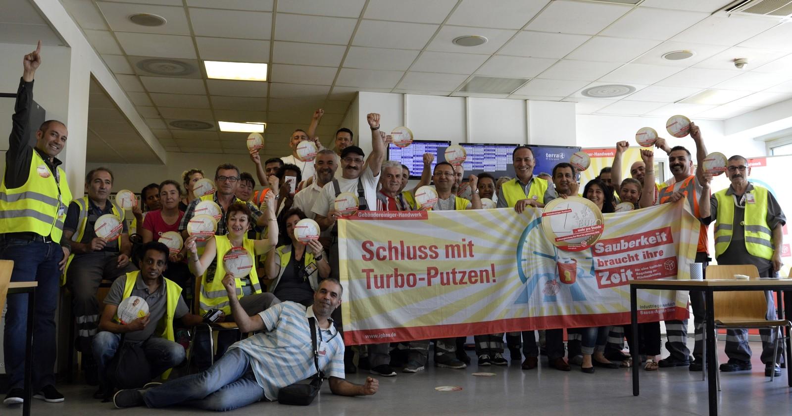 Kolleginnen & Kollegen der Firma ASG – Frankfurt Airport wünschen erfolgreiche Verhandlungen