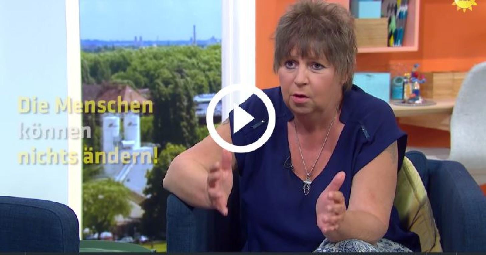 Unsere Kollegin Susi Neumann im Sat1- Früstücksfehrnsehen &  in der Tagesschau
