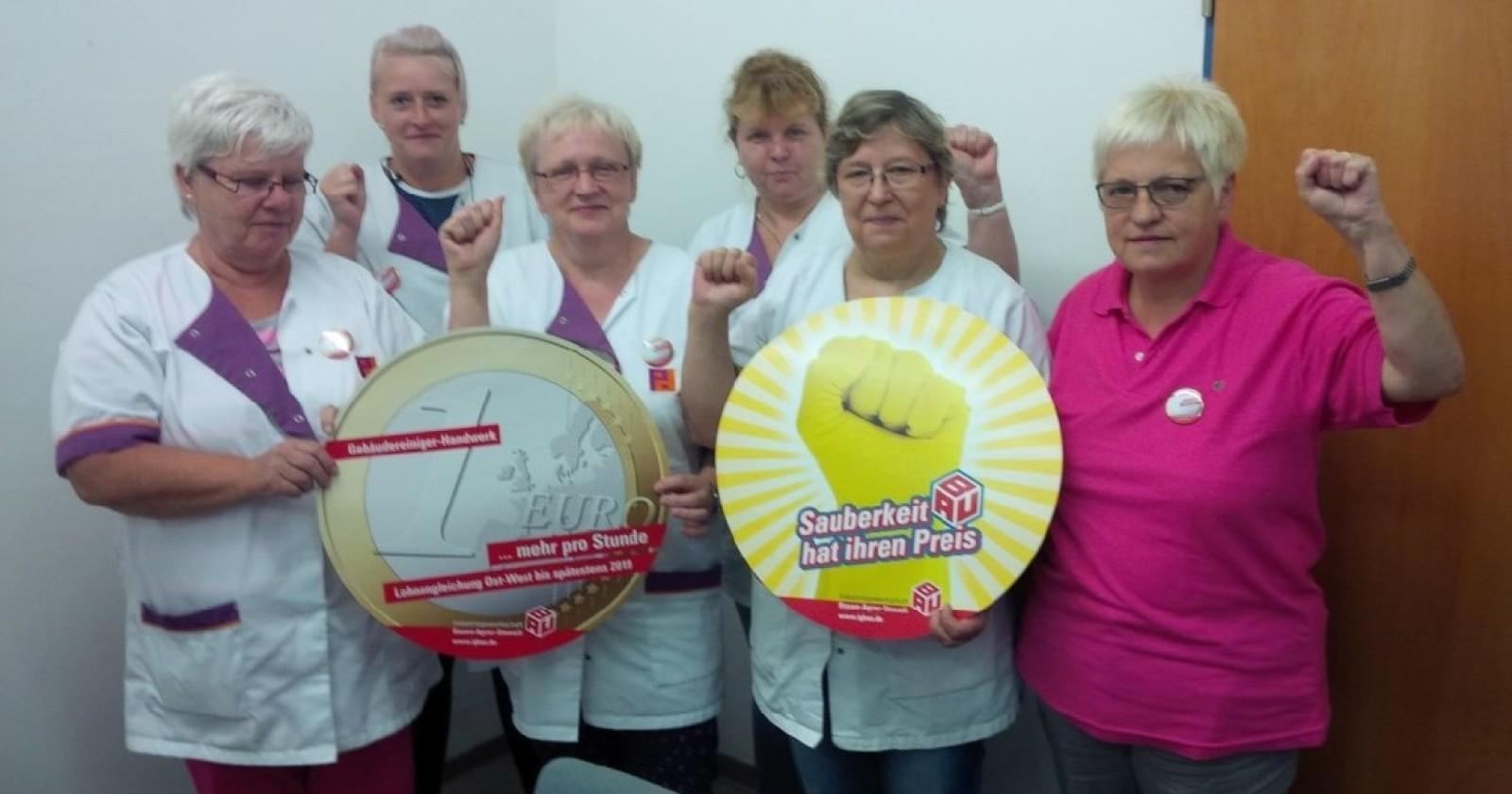 Kolleginnen von Piepenbrock in Thüringen empört über Verhalten der Arbeitgeber