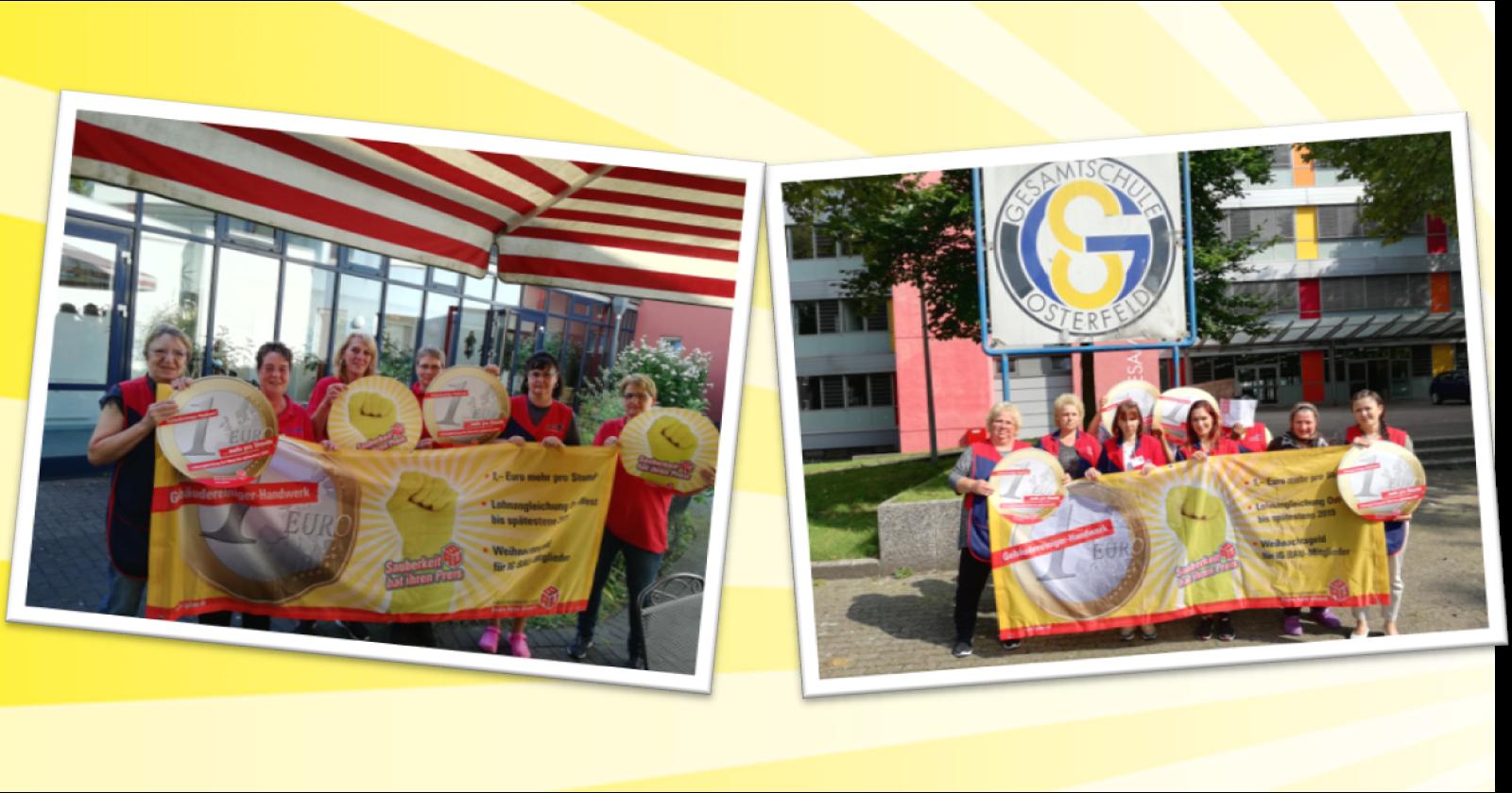 GEWA-Kolleginnen im Ruhrgebiet wollen raus aus dem Niedriglohn