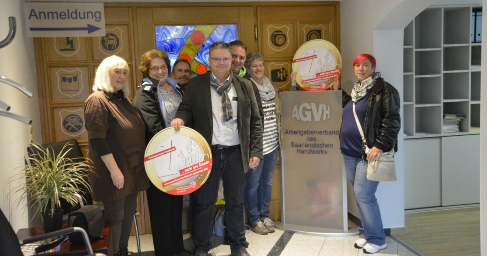 Saarländische Betriebsräte beim Arbeitgeberverband Handwerk