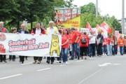 Video: Gebäudereingiger stehen geschlossen hinter Verhandlungskommission