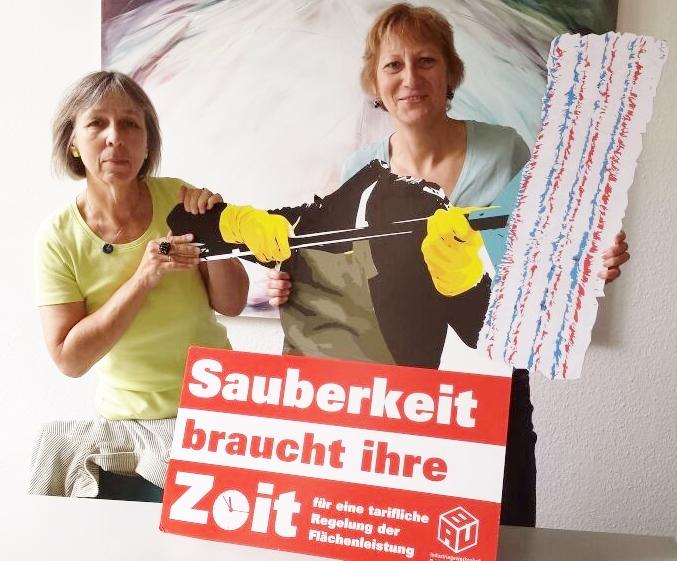 Grüne Ratsfraktion Heidi Matthias (Fraktionsvors.) und Barbara Behr Ratsfrau