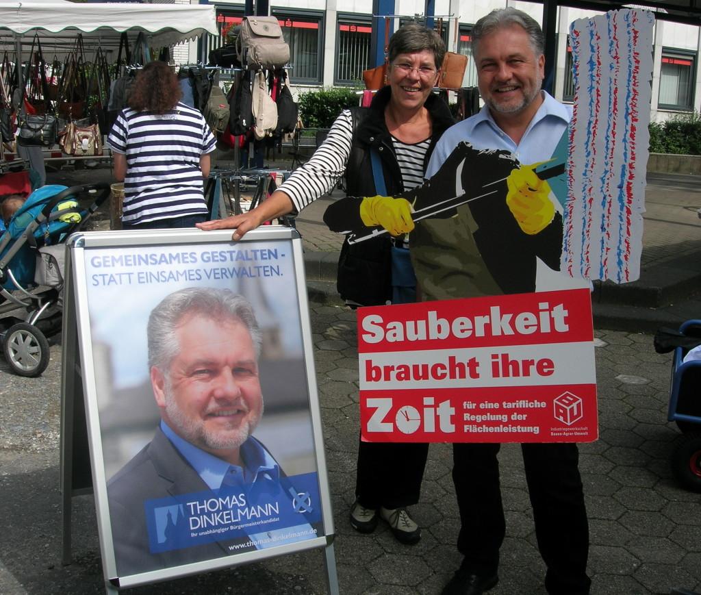 Thomas Dinkelmann, unabhängiger Bürgermeisterkandidat Mettmann
