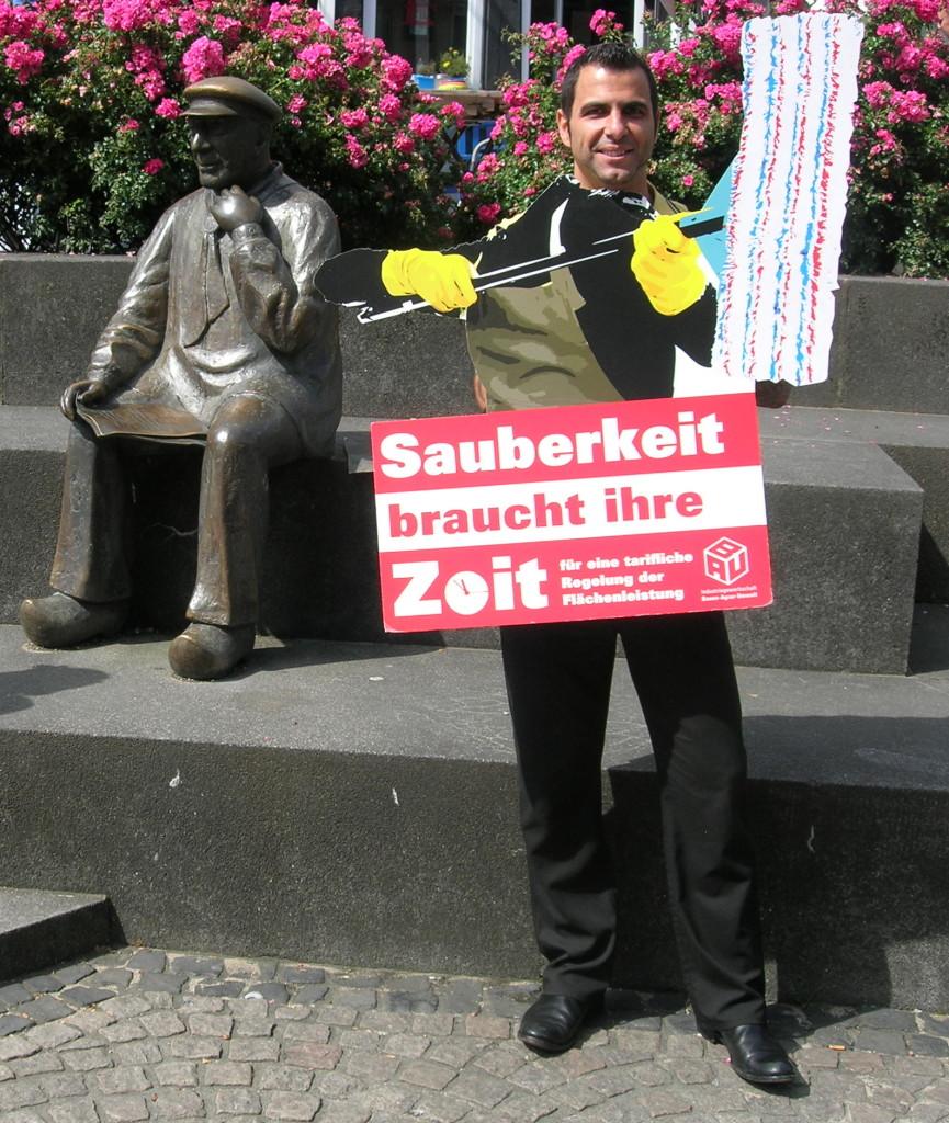 Ziad Moughrabi, unabhängiger Bürgermeisterkandidat Mettmann