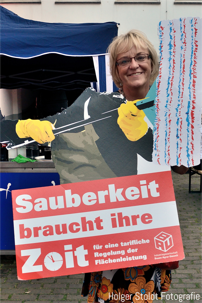Sigrid Wolf  Regionsgeschäftsführerin der DGB Region Düsseldorf Bergisch- Land