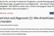 """TV-Tipp: """"Ausgetrickst und Abgezockt"""" - Die miesen Maschen der Arbeitgeber"""