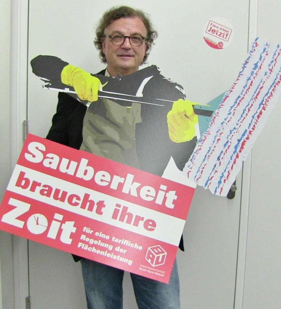Wolfgang Freye (Die Linke) OB-Kandidat in Essen