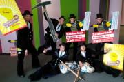 """""""Solidarität mit den GebäudereinigerInnen"""""""