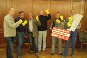 """Soli-Botschaft der Kollegen aus dem Fachgruppenvorstand """"Sand-, Kies-, Mörtel- und Transportbeton"""" in Osnabrück"""