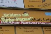 Leipzig: Soli-Aktion zur 4. Tarifverhandlung & Veranstaltungsankündigung am 15.10.2015 an der Uni Leipzig