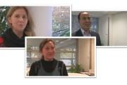 Stimmen der IG BAU Bundestarifkommission zum Verlauf der Tarifgespräche: Erol Oruc, Svetlana Pfeifer, Iris Santoro