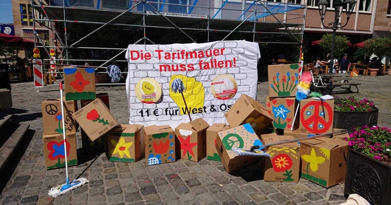Der Tag der Gebäudereinigung in Mittelfranken