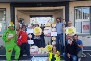 """""""Krötenwanderung"""" der Fachgruppe Gebäudereinigung in Duisburg"""