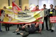 Betriebsräte von SEA LIFE Deutschland erklären sich solidarisch mit Gebäudereinigern