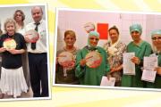 KollegInnen der Krankenhaus-Reinigung von Agaplesion Süd & FDK in Frankfurt erwarten ein keimfreies Angebot