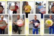 Gelebte Solidarität - IG Metall Kollegen von Premium AEROTEC in Nordenham unterstützen Klüh-KollegInnen