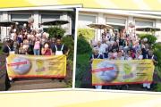 Aktion der Kolleginnen und Kollegen von Gepe Peterhoff in Leverkusen