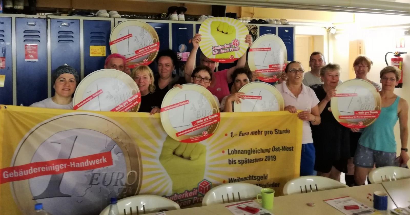 Octeo-KollegInnen aus Duisburg wollen am 26 September in Essen ihren Forderungen Nachdruck verleihen