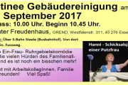 Veranstaltungstipp Gebäudereinigung: Sonntag 10. September 2017 - Mehr als nur Theater in Essen