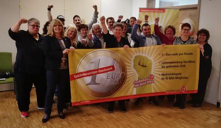 Gruppenbild Seminar Betriebsräte und Arbeitskampf