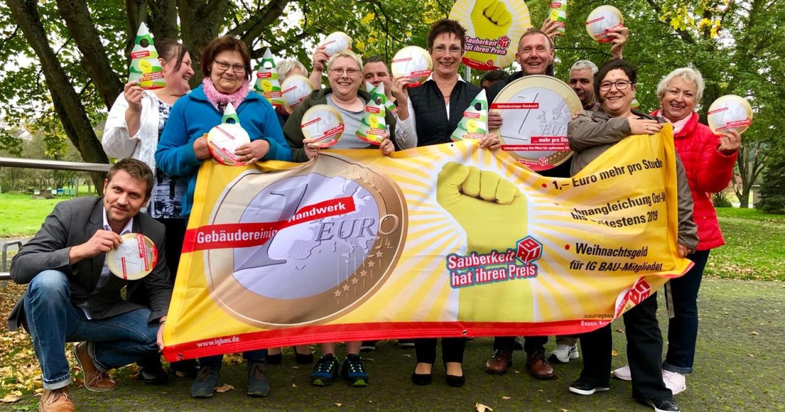 """Betriebsräte der Gebäudereinigung in Hessen: """"Wir Hessen stehen zusammen!"""""""