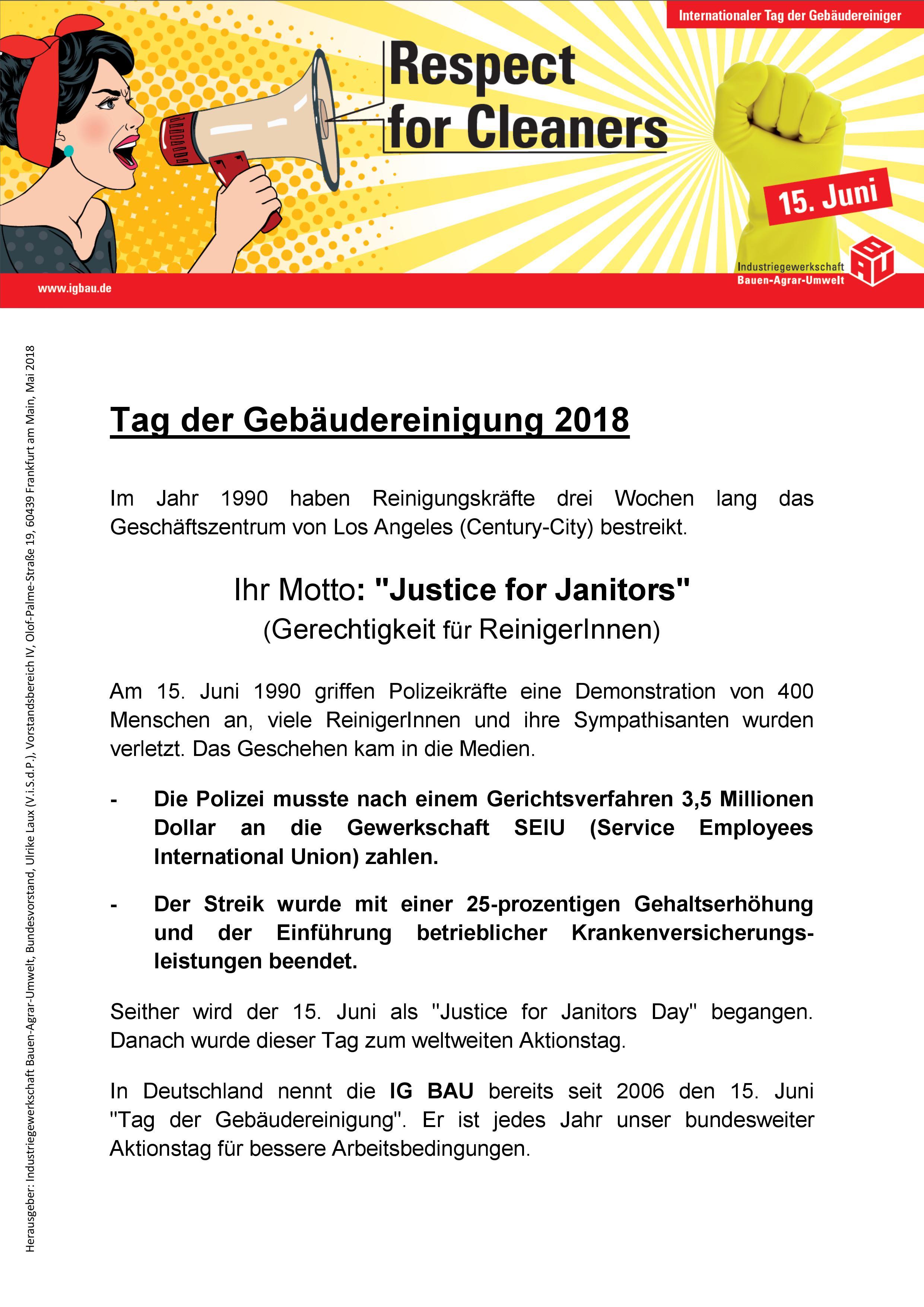 Flugblatt TdG