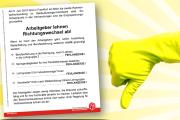 Flugblatt zur zweiten Tarifrunde zum Rahmentarifvertag: Richtungswechsel? Fehlanzeige!