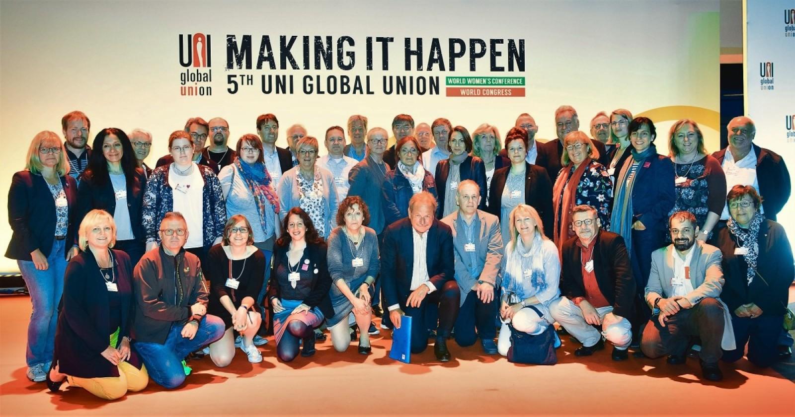5. Internationale Konferenz der Uni Global Union – Making it happen!