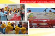 Auch Kolleginnen & Kollegen aus München und Ingolstadt fordern Respect for Cleaners