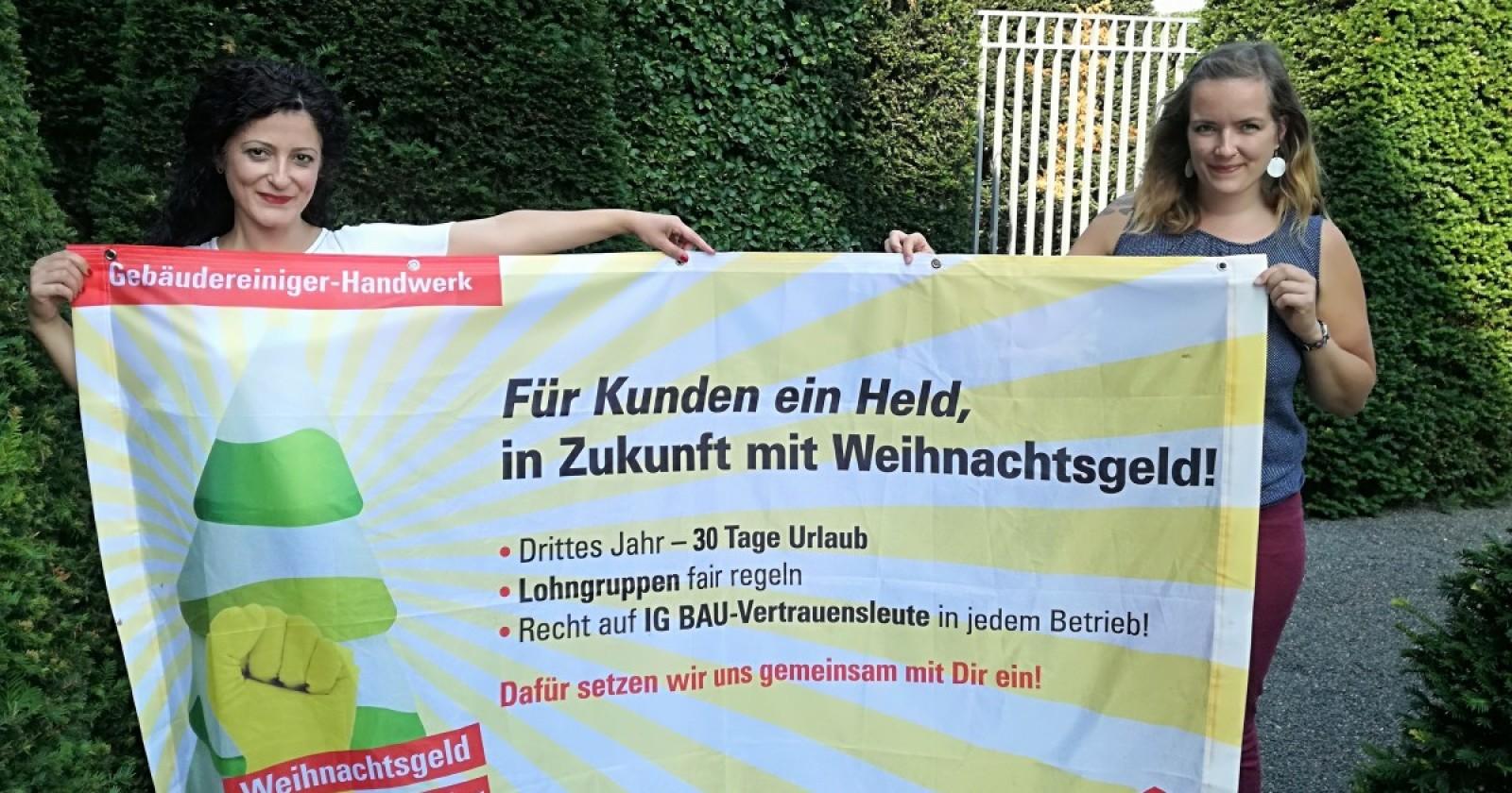 Cansel Kiziltepe (SPD) unterstützt Forderungen der Reinigungskräfte