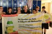 Octeo - Kolleginnen der Niederrheintherme wollen Weihnachtsgeld als Anerkennung für gute Leistung
