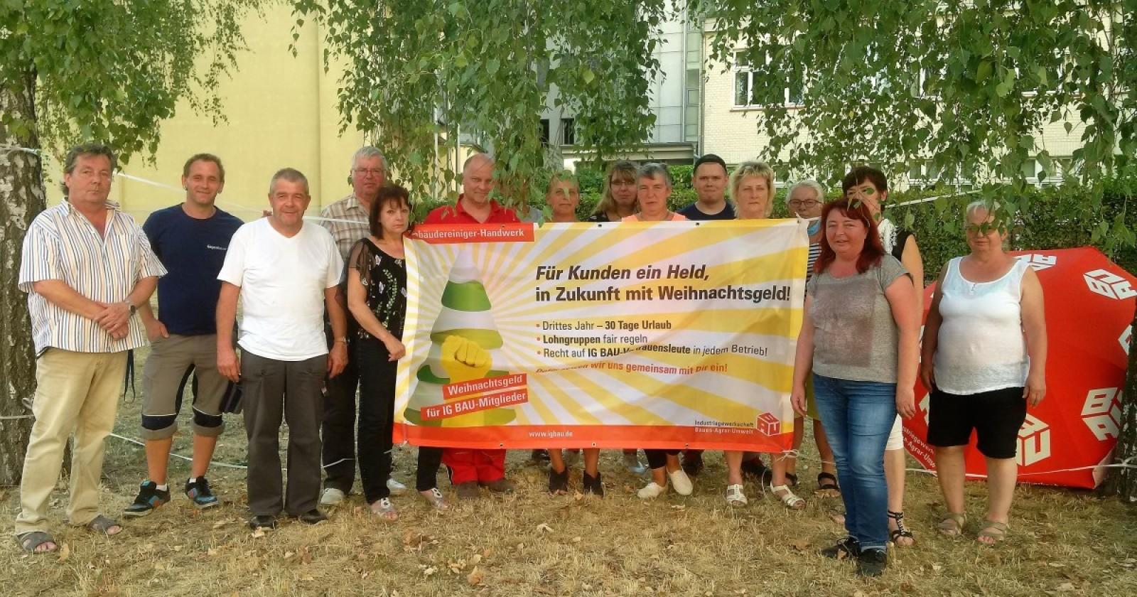 Sommerfest der Gebäudereiniger*innen aus Dresden und Bautzen