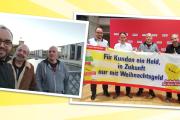 Pascal Meiser (MDB) solidarisiert sich mit Reinigungskräften und ihrer Forderung nach einem Weihnachtsgeld