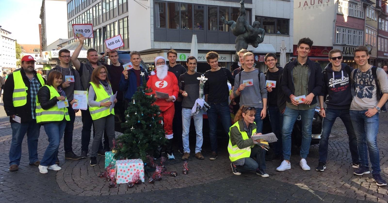 Fachgruppe Braunschweiger Gebäudereiniger – aktiv fürs Weihnachtsgeld