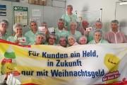"""Industriereiniger*innen von Dussmann: """"Wir erkämpfen uns das Weihnachtsgeld"""""""