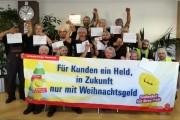 Kollegen von Piepenbrock Berlin: Die Wunschzettel sind geschrieben - Jetzt müssen die Arbeitgeber nachziehen
