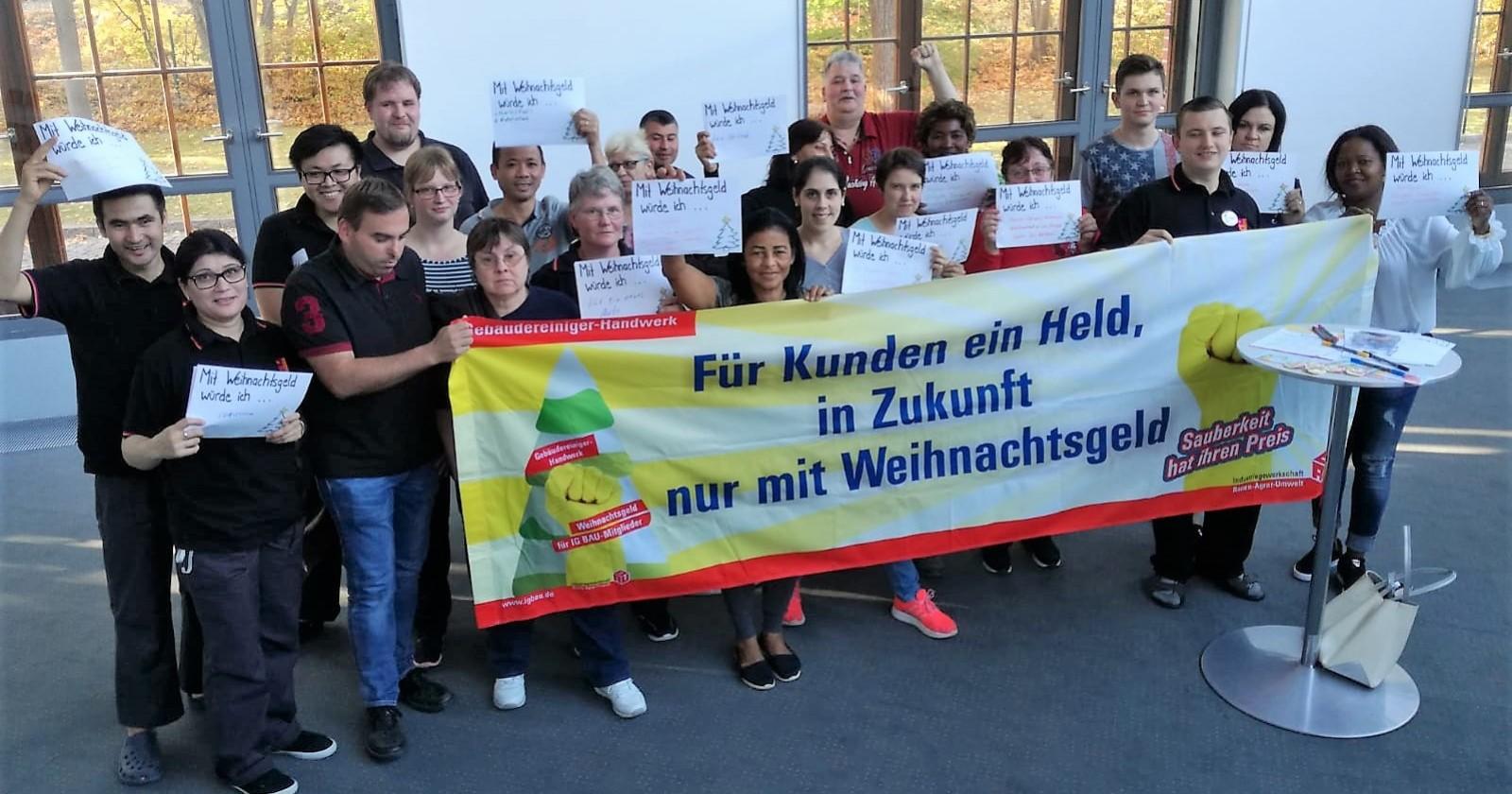 Piepenbrock-Abteilungsversammlung im Potsdamer Kongresshotel – Arbeitgeber reagiert, Beschäftigte aber auch!