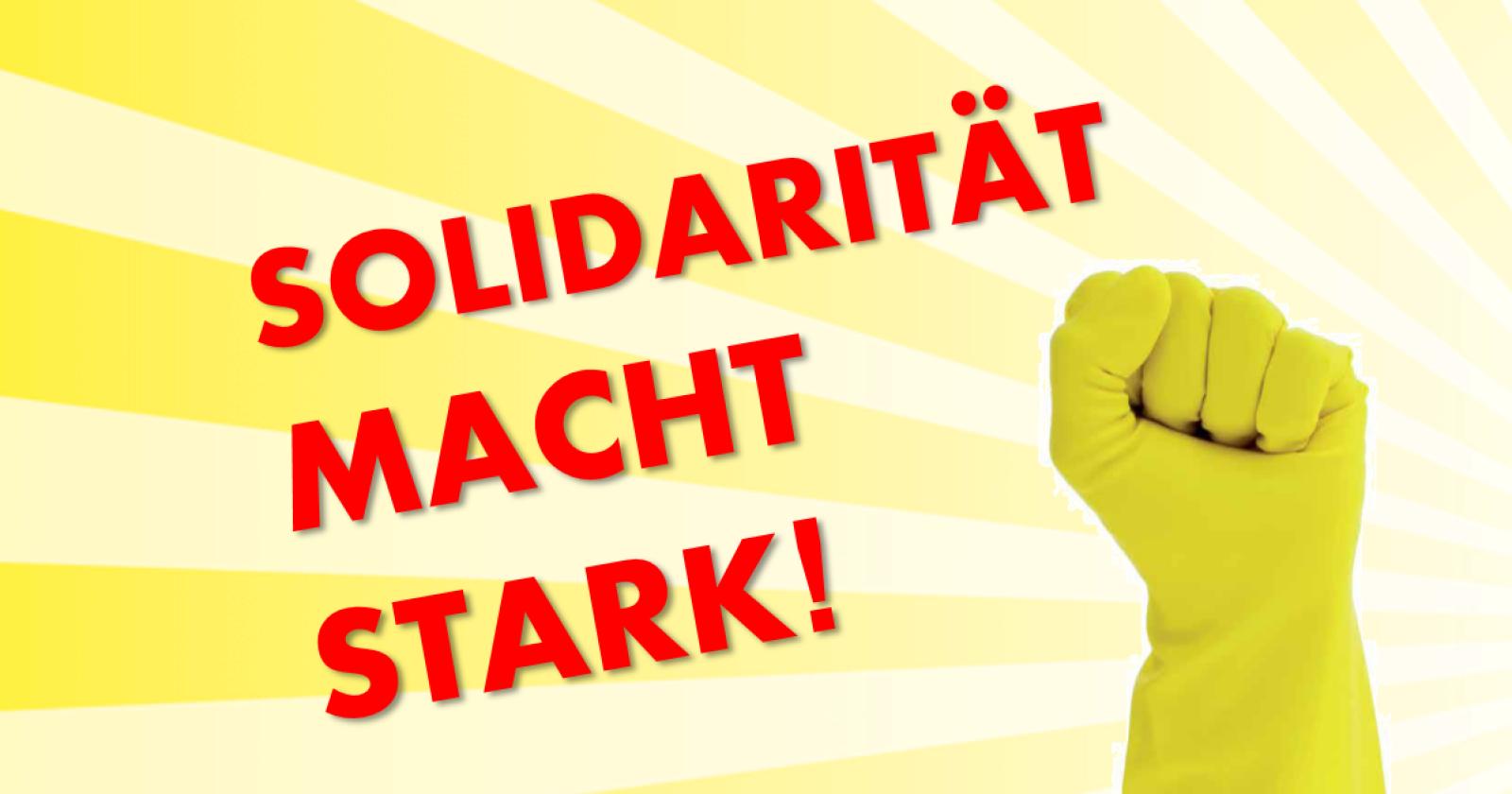 Solidarität mit Beschäftigten! DGB - Kreisverband Heidelberg Rhein-Neckar verurteilt Verhalten von Reinigungsfirma Plural und Daimler in Sindelfingen