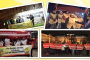 GebäudereinigerInnen von Klüh, Peterhoff & Bastian im Warnstreik für Weihnachtsgeld
