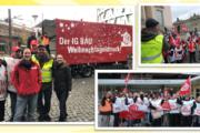 Starkes Signal: GebäudereinigerInnen aus Berlin und Potsdam demonstrieren in Hauptstadt für Weihnachtsgeld