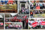 Große Beteiligung an Warnstreiks auch in Niedersachsen